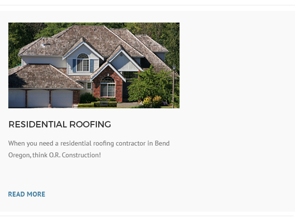 Oregon roofing commercial roofing oregon for Bend oregon contractors