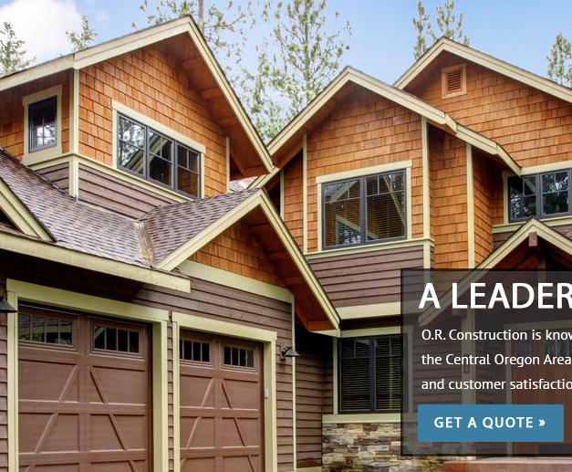 Bend Oregon Roofing O R Construction In Bend Or